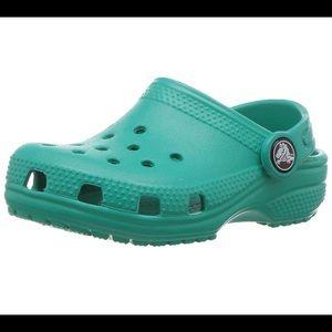 Crocs Kid's Classic Tropical Teal Clog